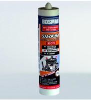 Герметик силіконовий високотемпературний до 350°C BOSMAN